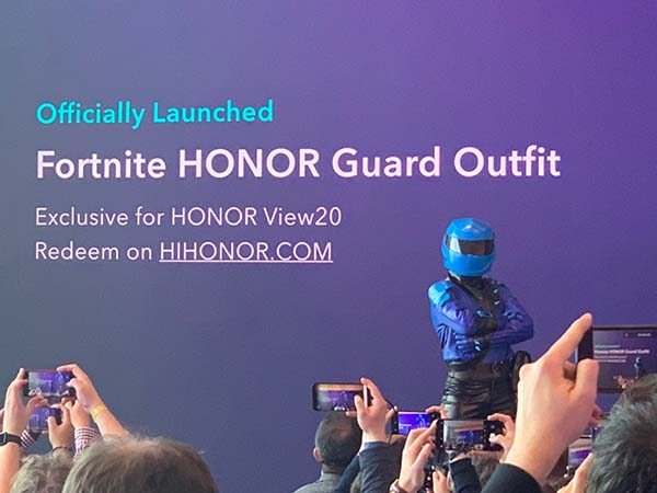 honor fortnite mwc 2019