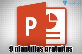 9 plantillas PowerPoint 2019