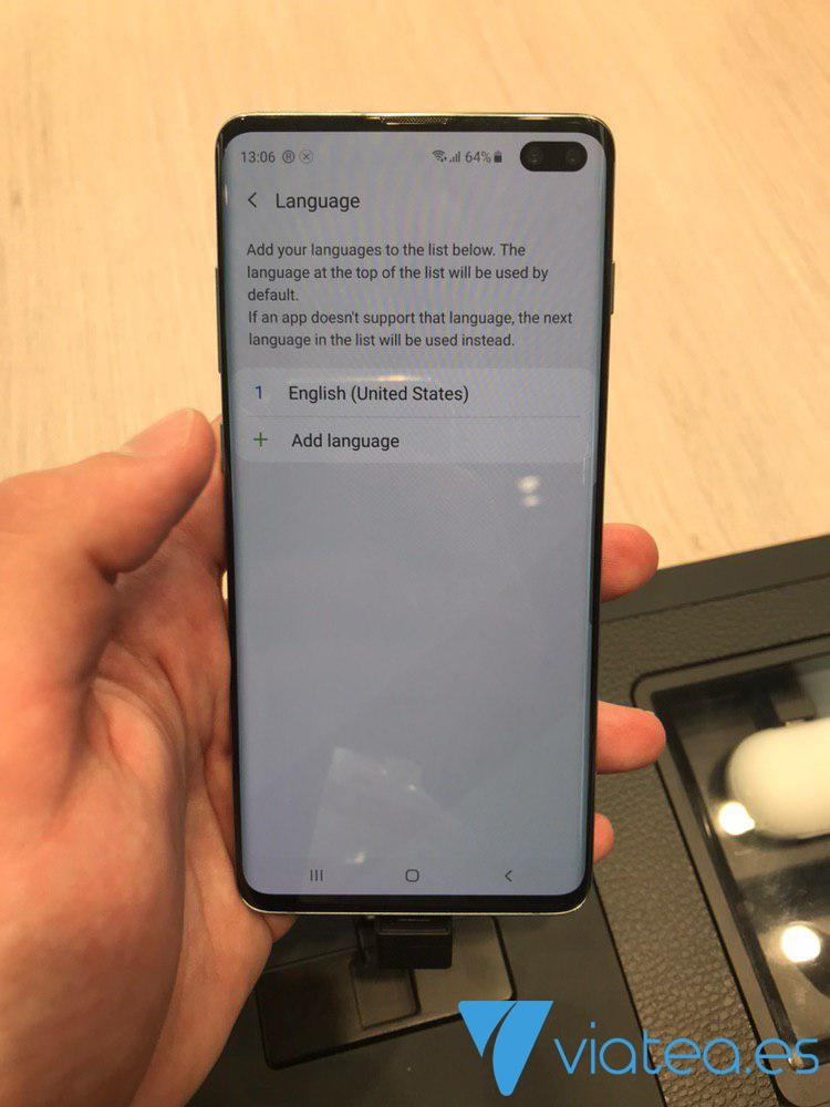 Añadir idioma Samsung Galaxy S10