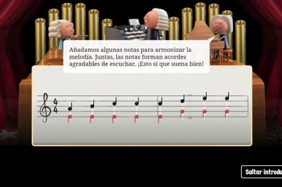 Bach Doodle con inteligencia artificial