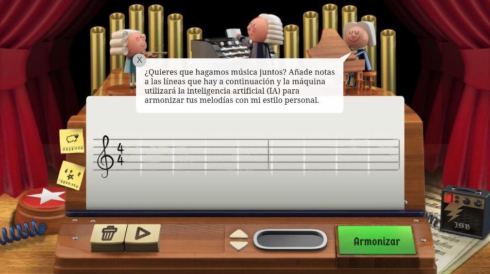 Compon melodías con Bach