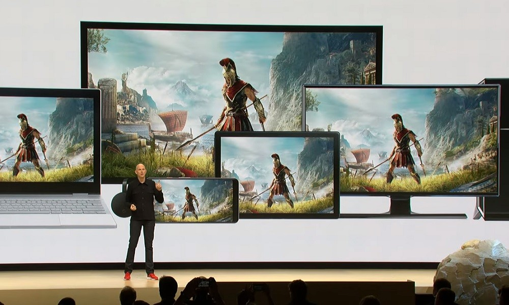Google Stadia en multiples dispositivos
