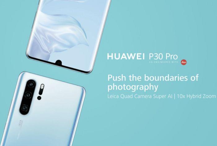 Huawei P30 Pro zoom hibrido