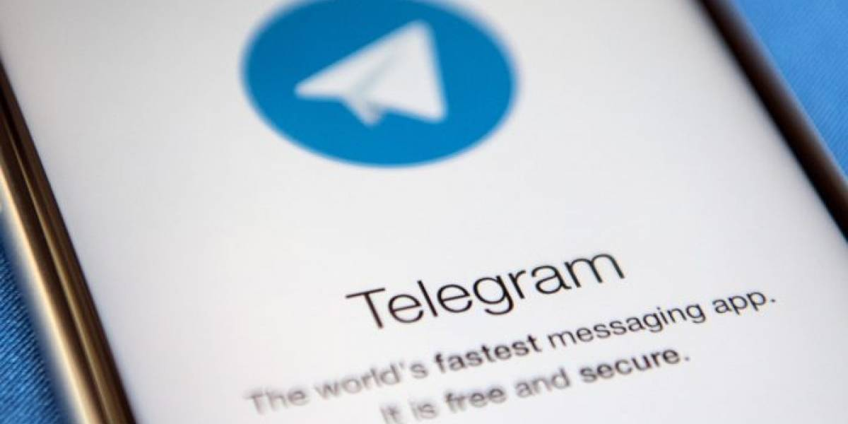 Telegram bienvenida app