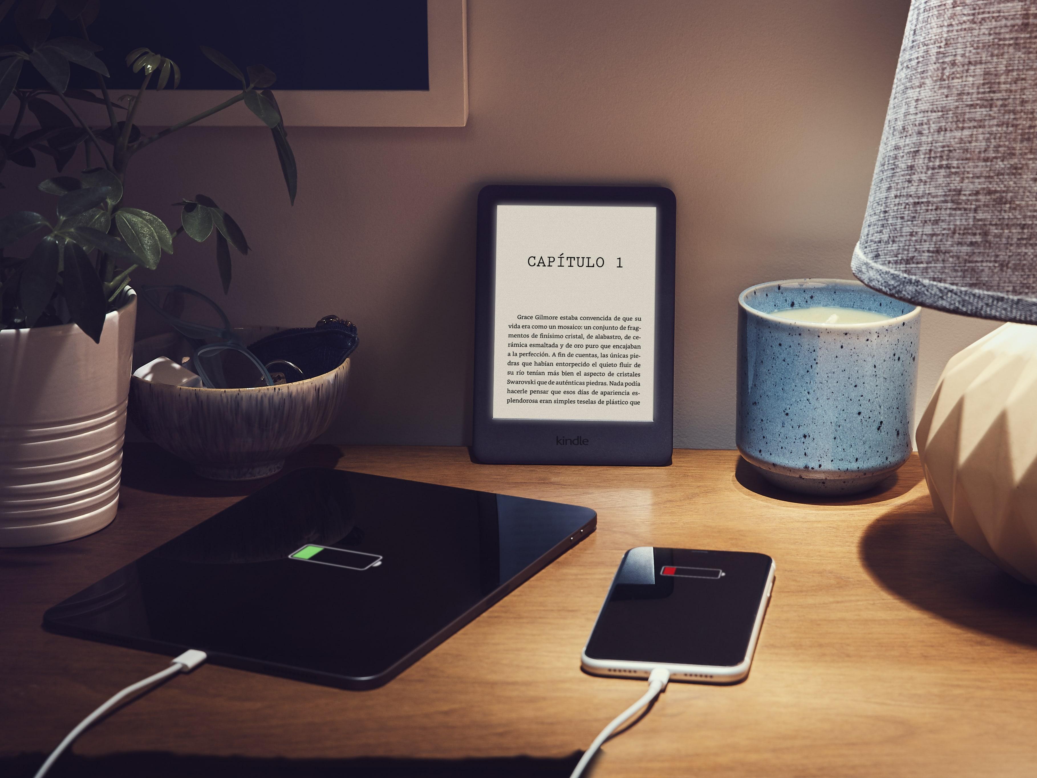 Amazon Kindle capacidad de batería