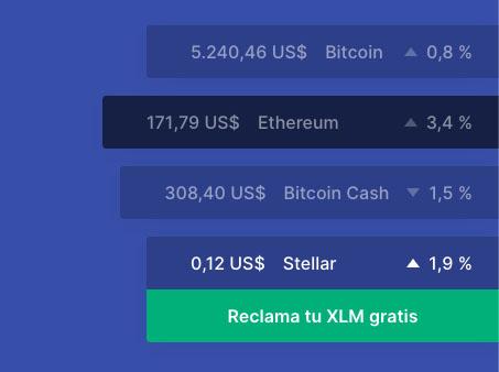 XLM gratis blockchain