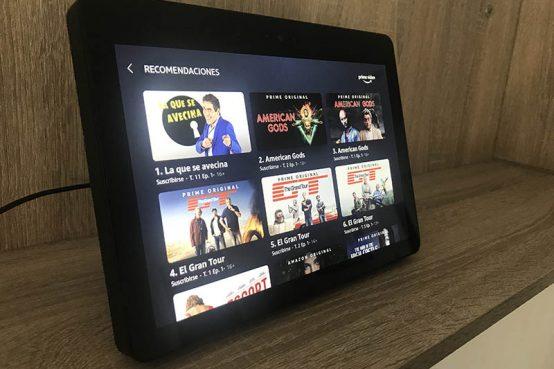 Amazon Echo Show Prime Video