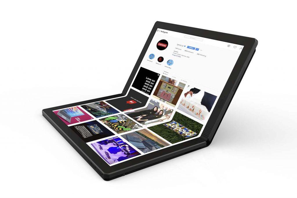Lenovo ThinkPad X1 plegado