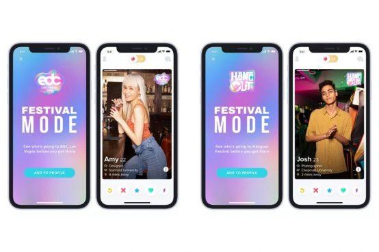 Modo Festival de Tinder