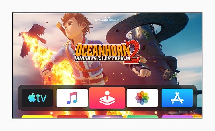 Apple Tv OS WWDC19 juegos