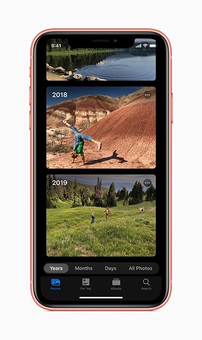 iOS 13 fotos