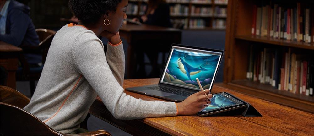 macOS Catalina iPad