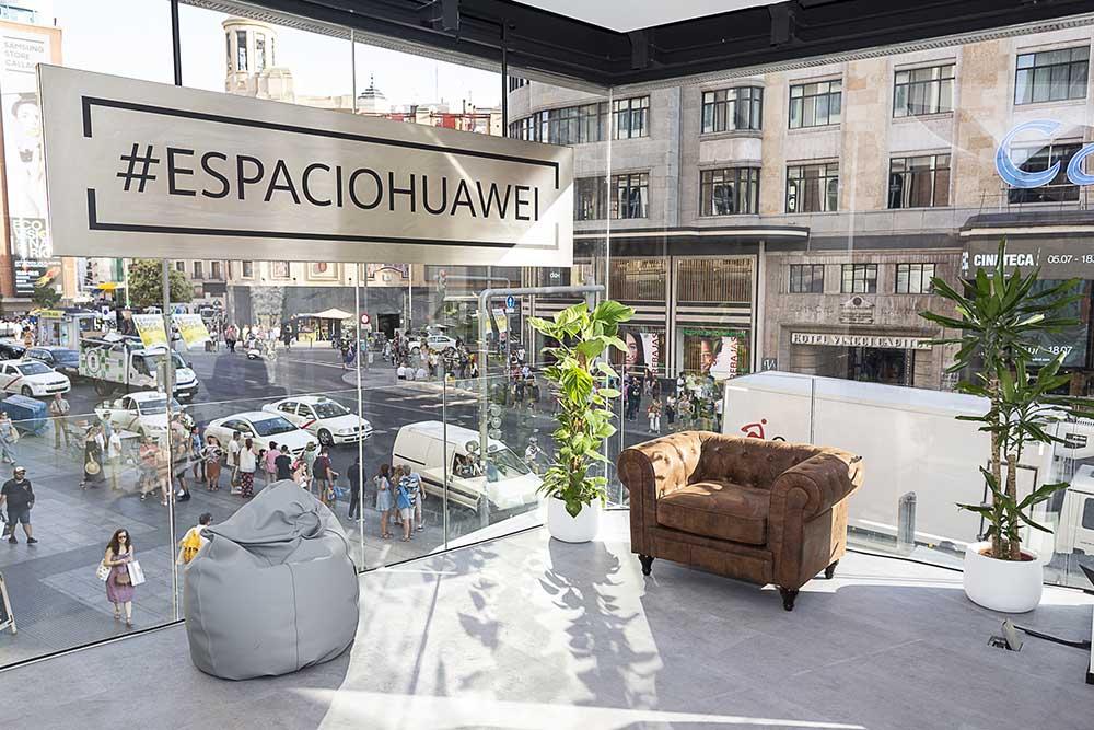 Inauguración Espacio Huawei Madrid