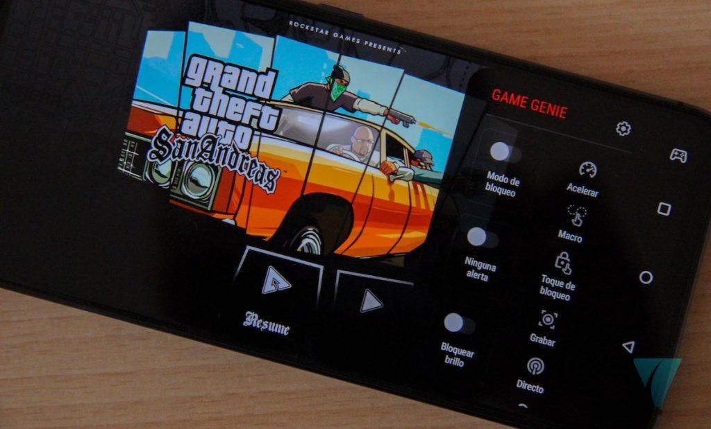 modo juegos Zenfone 6