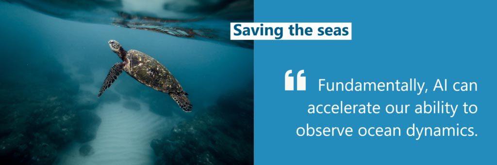 La IA puede ayudar a salvar los océanos
