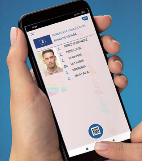miDGT nueva app carnet conducir