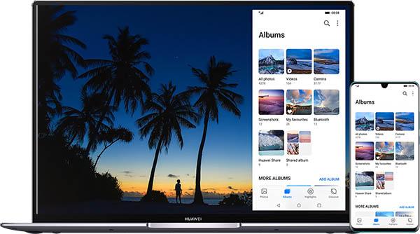 EMUI10 compartir pantalla