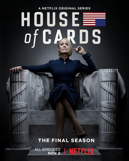 house of cards mejores series Movistar plus 2019