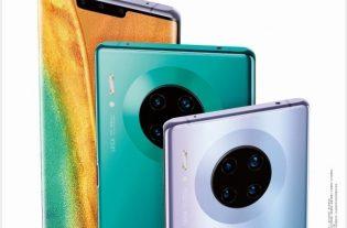 Huawei Mate 30 cartel filtrado