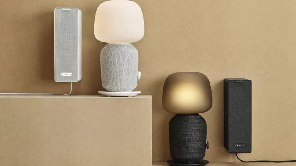 Línea de muebles con altavoces de Ikea, en alianza con Sonos