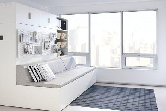 Ikea diseña muebles inteligentes para espacios reducidos