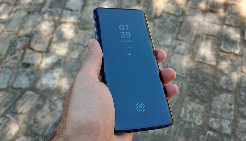 OnePlus 7 Pro lector huellas