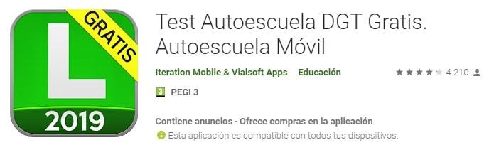 Aplicaciones para hacer tests del carnet de conducir
