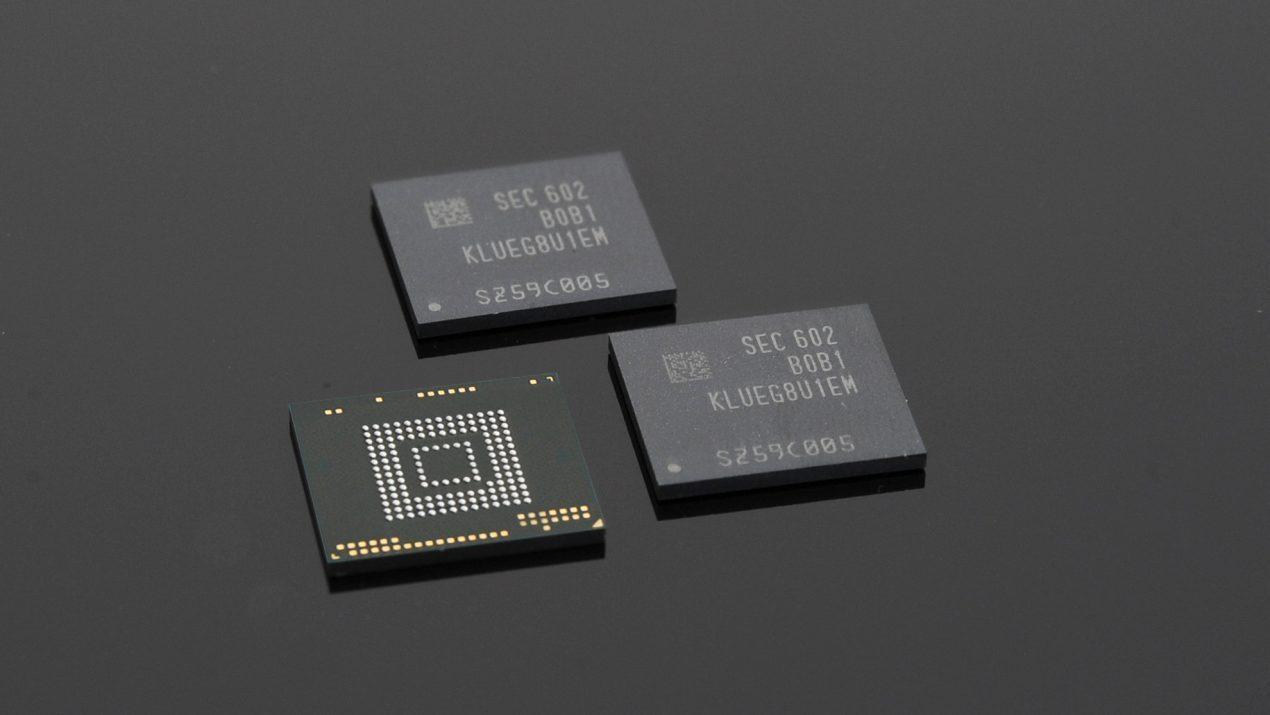 Memorias UFS 3.0 de Samsung