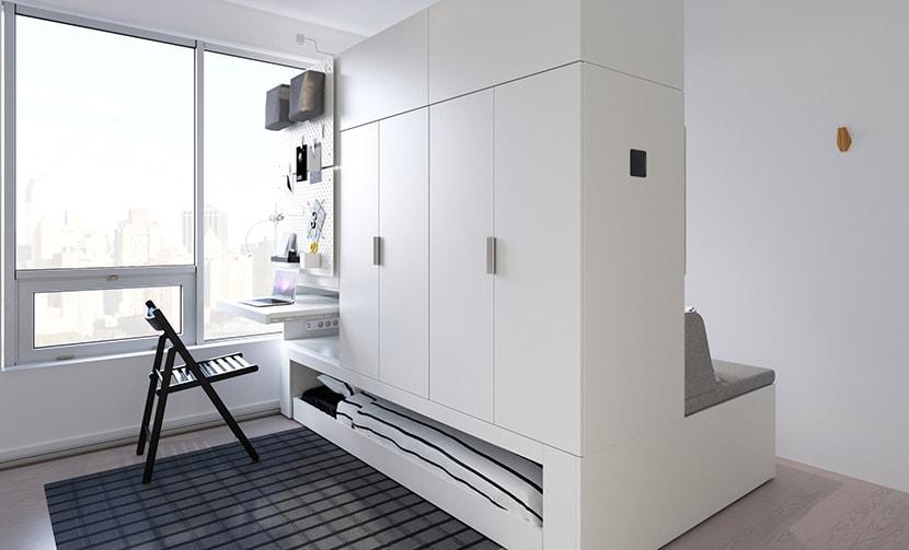 Muebles robóticos Ikea, pensados para espacios reducidos.