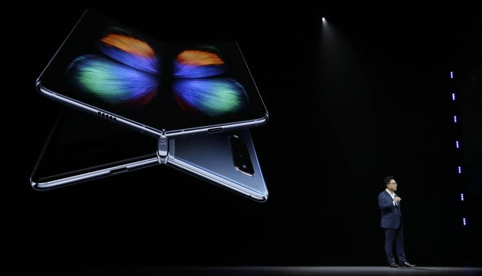 CEO de Samsung anuncia lanzamiento oficial del Galaxy Fold.