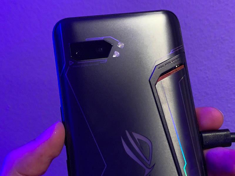ASUS ROG Phone II cámara