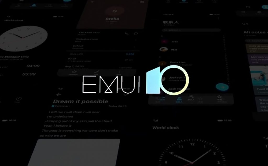 Modo oscuro del EMUI 10
