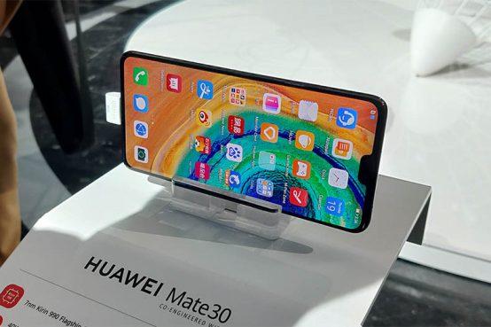 Huawei Mate 30 diseño