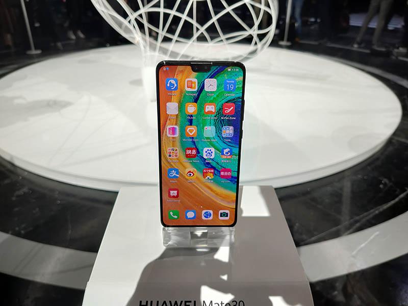 Huawei Mate 30 presentación