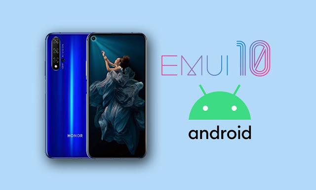 EMUI 10 en Huawei P30