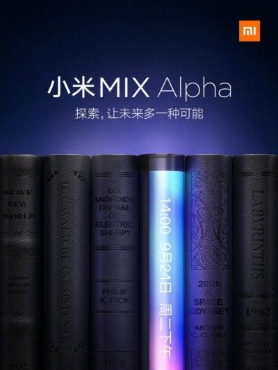 Imagen promocional del MIX Alpha