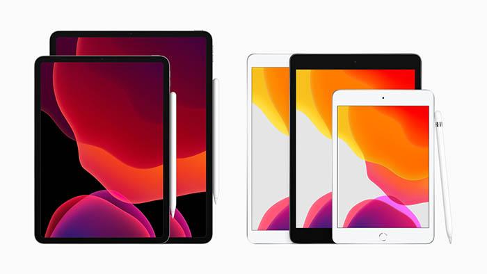 iPad 2019 familia iPad