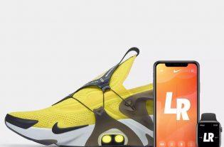 Nike lanza al mercado de las zapatillas las, Adatp Huaraches, auto ajustables por comando de voz con Siri.