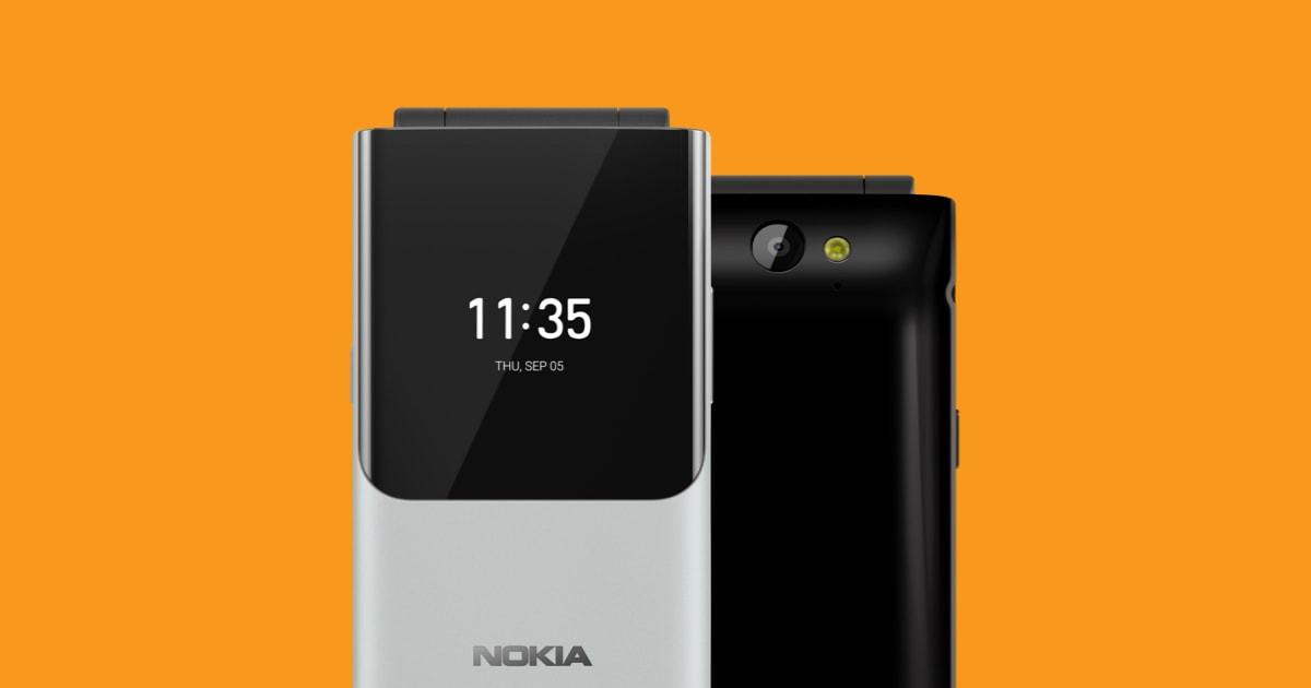 Nokia 2720 Flip - uno de los móviles clásicos de la empresa finlandesa con Whatsapp