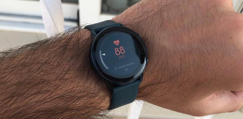 Samsung Galaxy Watch Active pulsaciones