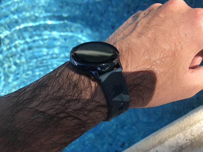 Samsung Galaxy Watch resistencia al agua