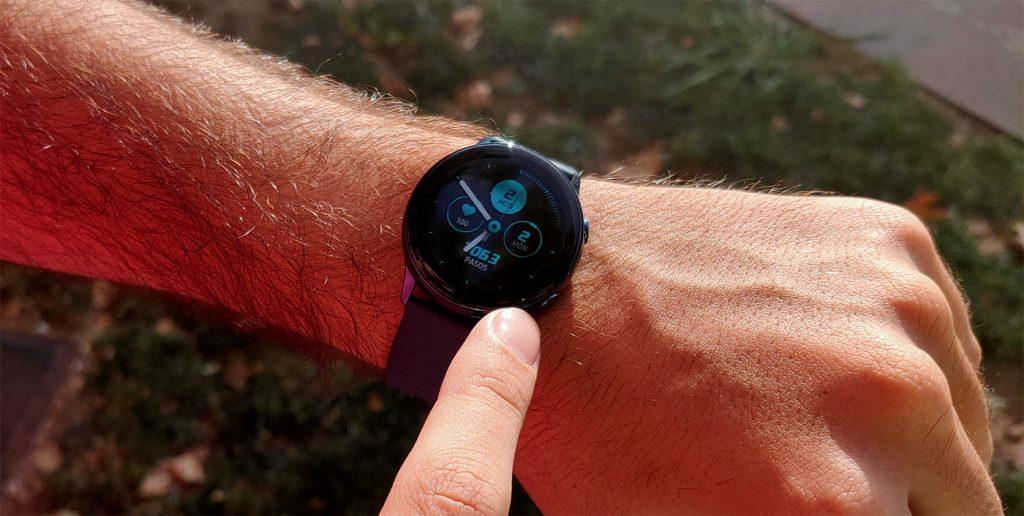 Samsung Galaxy Watch uso