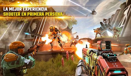 Juegos shooter android 2019 - Shadowgun Legends