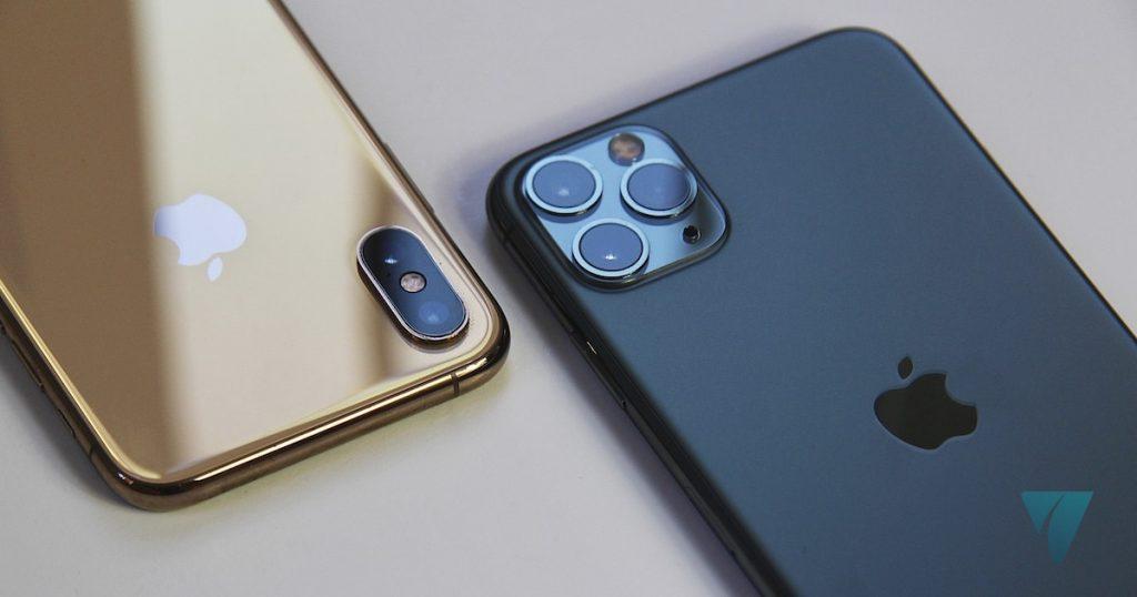iPhone 11 Pro Max y  iPhone XS Camara