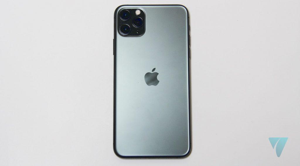 iPhone 11 Pro Max trasera verde noche