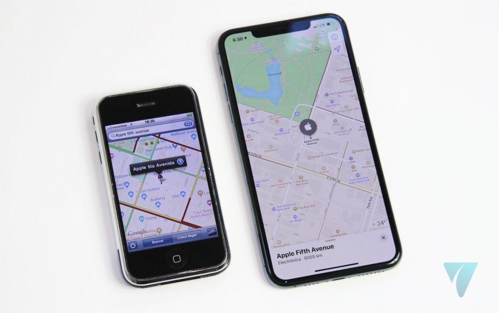 iPhone 11 Pro Max iPhone 2G Mapas