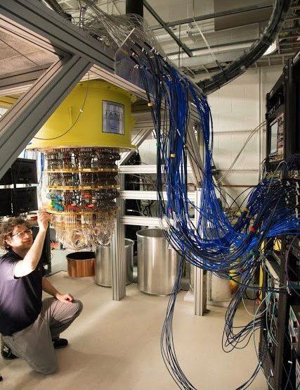 Ordenador cuántico de Google