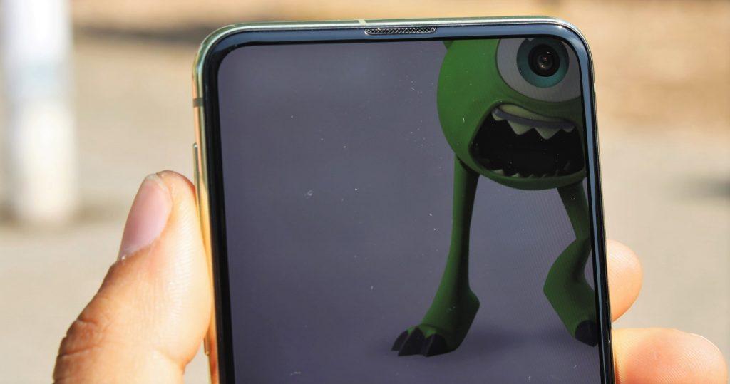 fondo pantalla camara samsung galaxy s10e