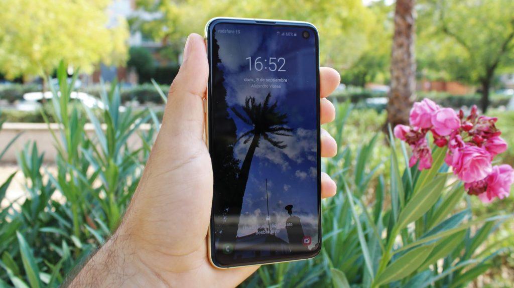 pantalla calidad samsung galaxy s10e