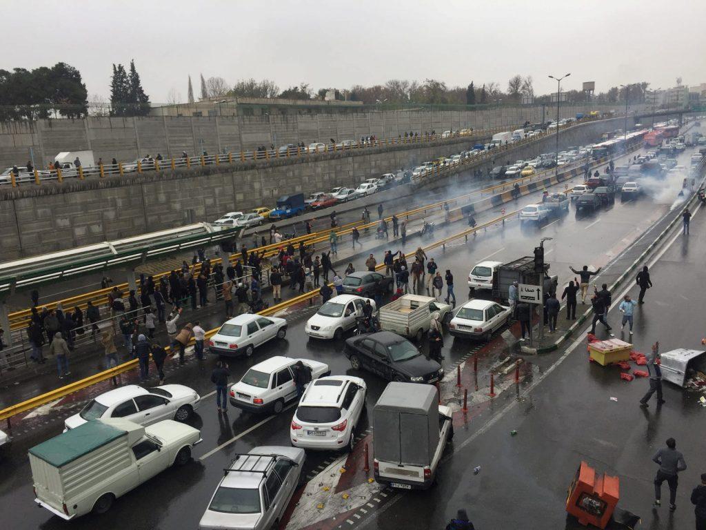 Protestas Irán y desconexión de Internet